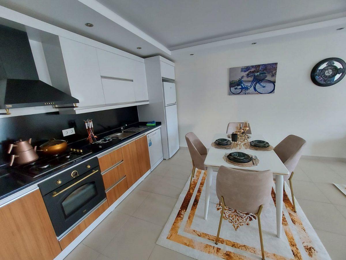 Просторная меблированная квартира 1+1 в Махмутларе - Фото 15