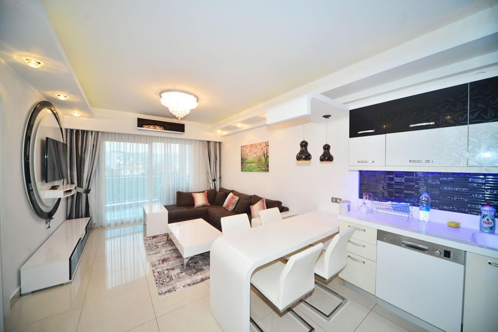 Современные апартаменты  1+1 в Махмутларе  - Фото 3
