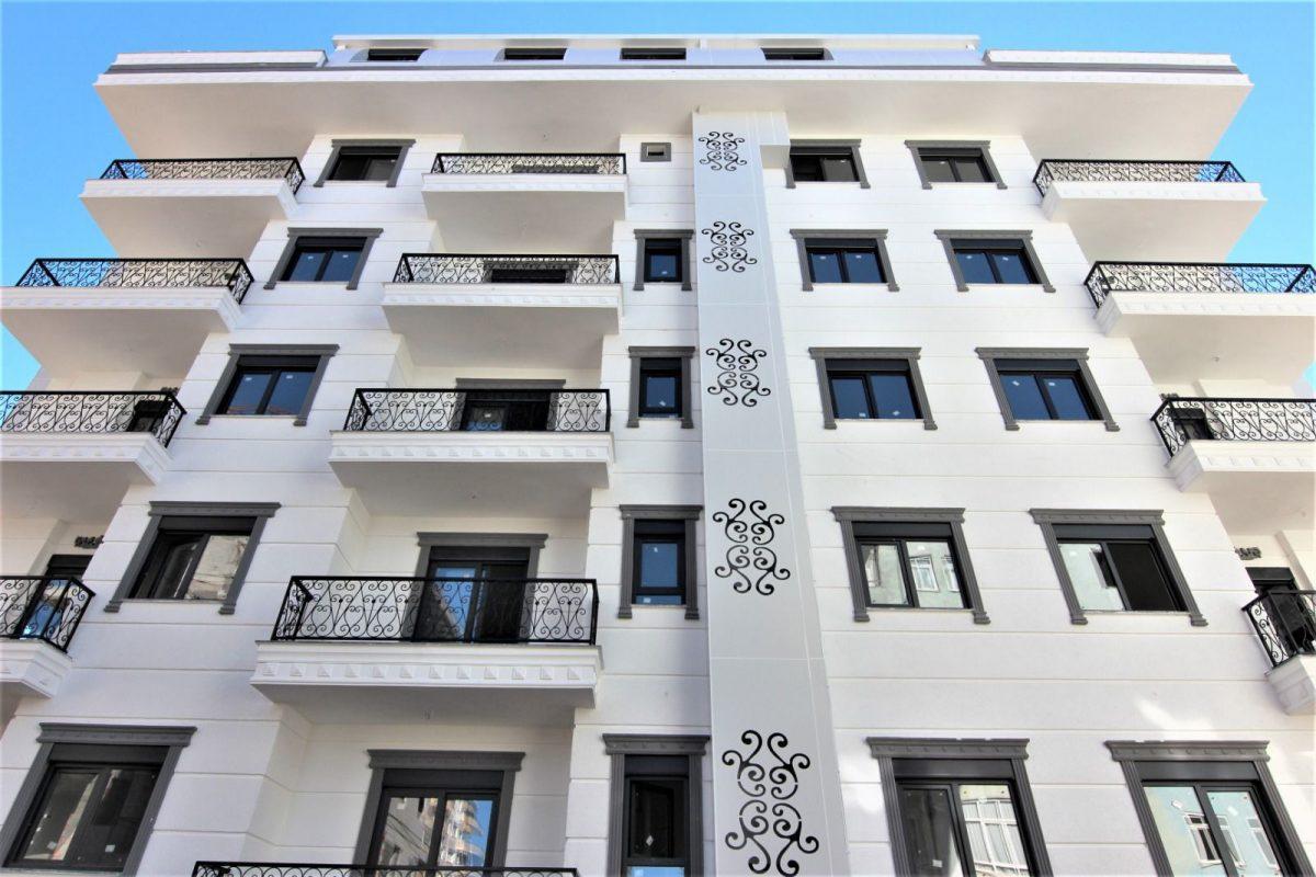 Новые светлые апартаменты 1+1 в Махмутлар - Фото 2
