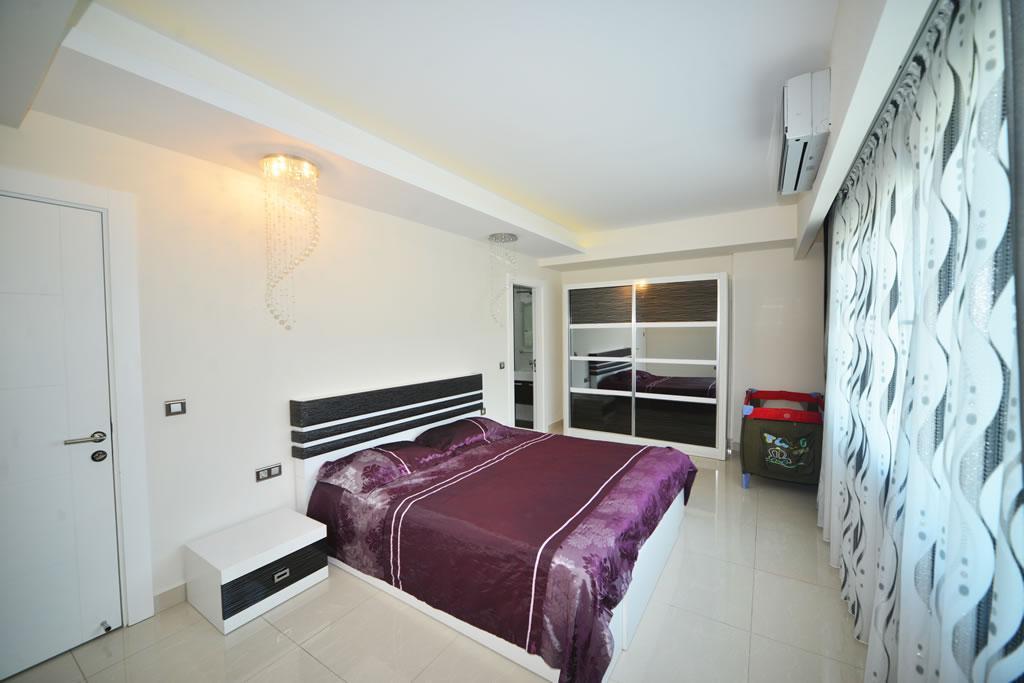Люксовые апартаменты 3+1 в зелёном и тихом районе Махмутлара - Фото 9
