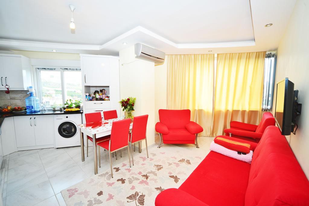 Меблированная квартира 2+1 с видом на горы и природу в Махмутларе - Фото 9