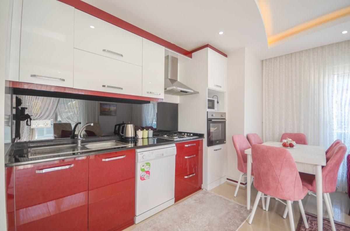 Просторная квартира с мебелью и техникой в Махмутларе - Фото 7