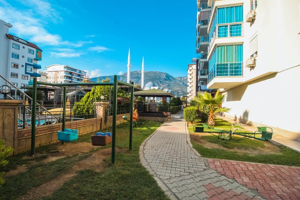 Меблированная двухкомнатная квартира в центре Махмутлара - Фото 3