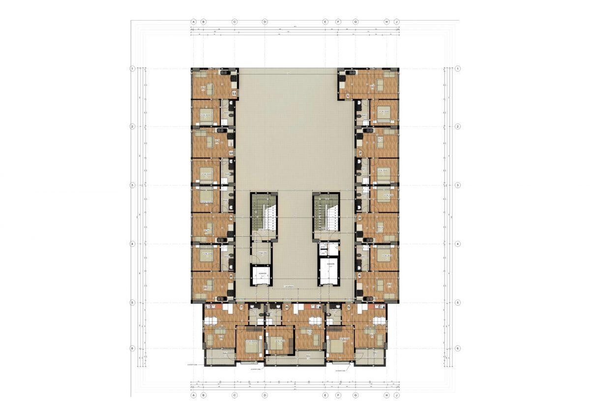 Апартаменты в ЖК премиум-класса в Авсалларе - Фото 23