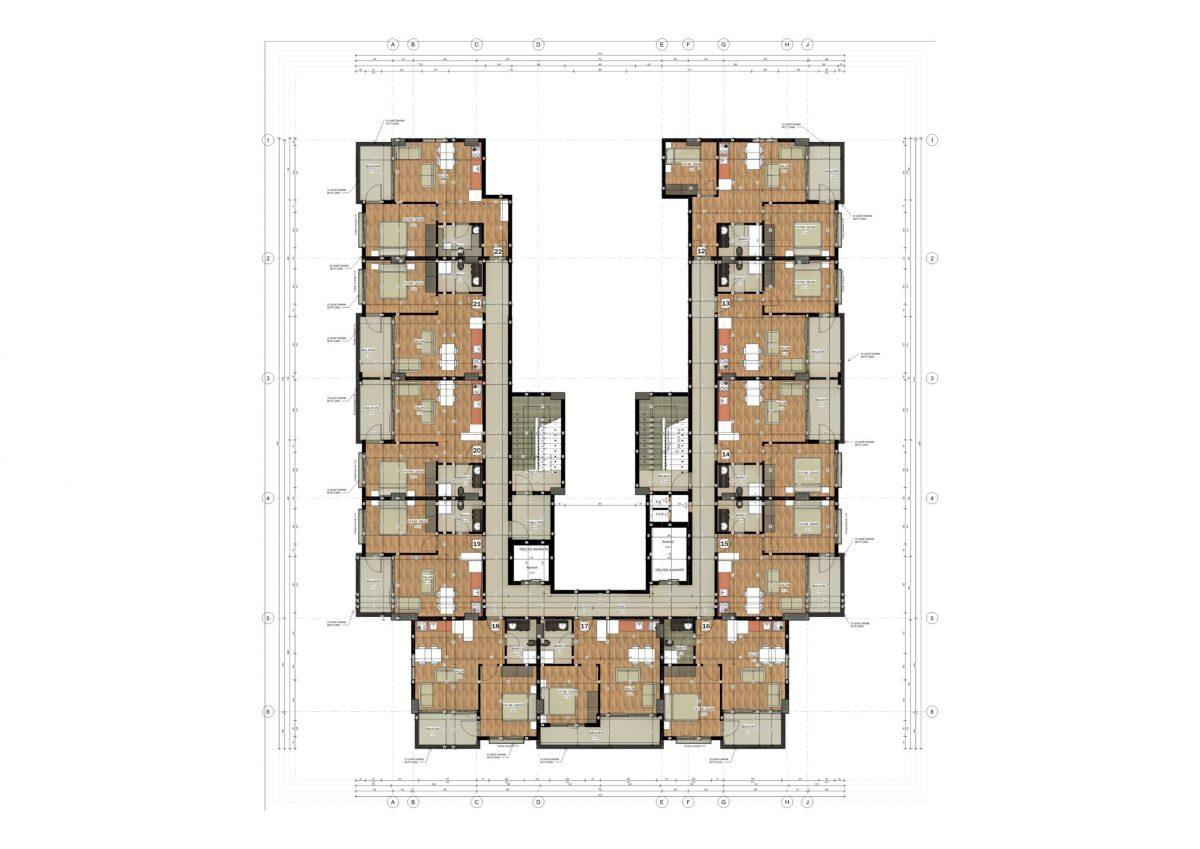 Апартаменты в ЖК премиум-класса в Авсалларе - Фото 24