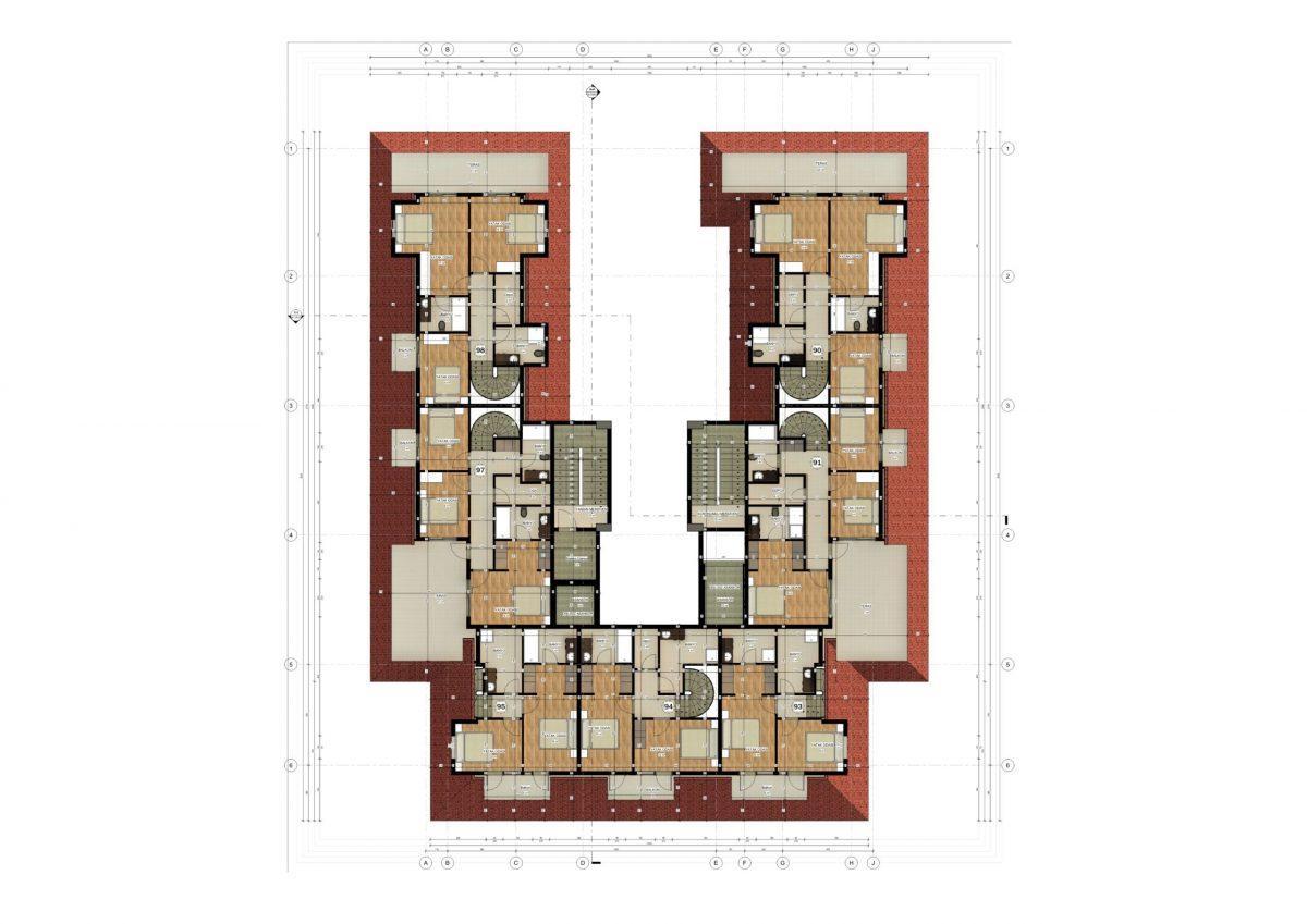 Апартаменты в ЖК премиум-класса в Авсалларе - Фото 25
