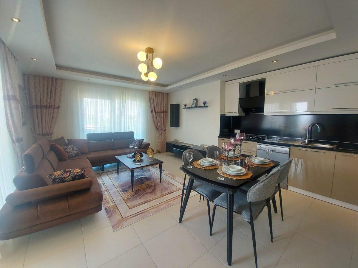 Дизайнерские апартаменты в комплексе отельного типа в Махмутларе - Фото 5