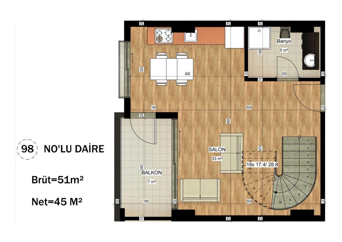 Апартаменты в ЖК премиум-класса в Авсалларе - Фото 27