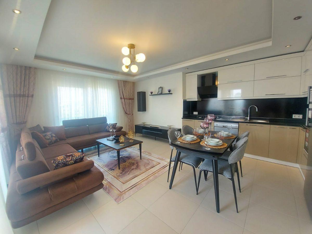 Дизайнерские апартаменты в комплексе отельного типа в Махмутларе - Фото 6