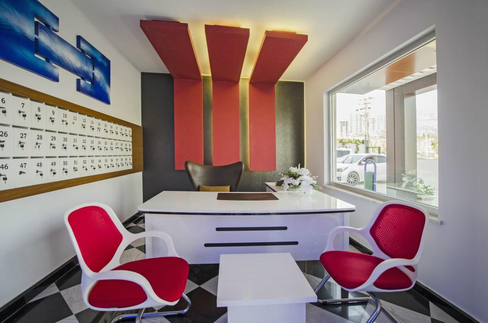 Дизайнерские апартаменты в комплексе отельного типа в Махмутларе - Фото 22