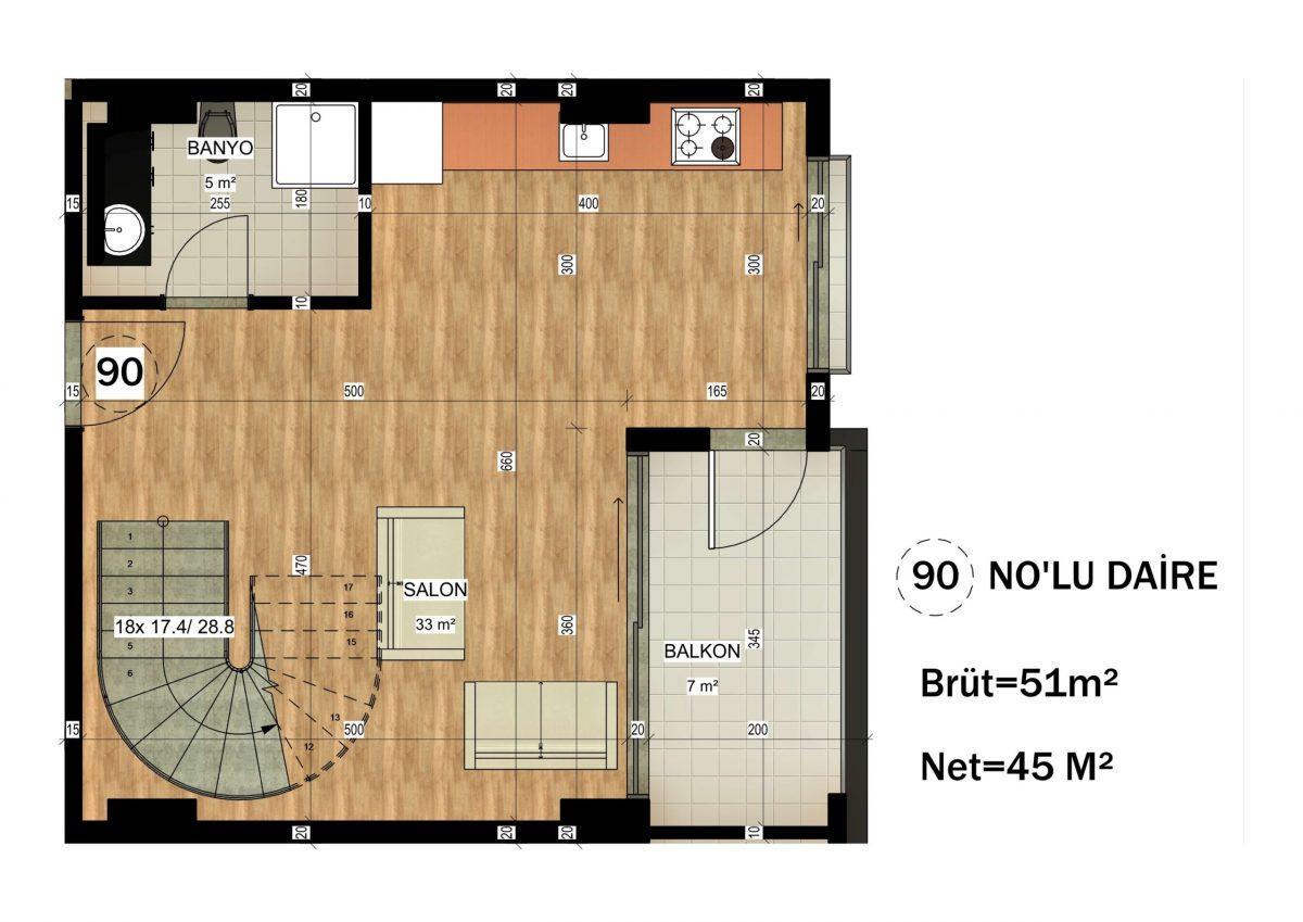Апартаменты в ЖК премиум-класса в Авсалларе - Фото 38