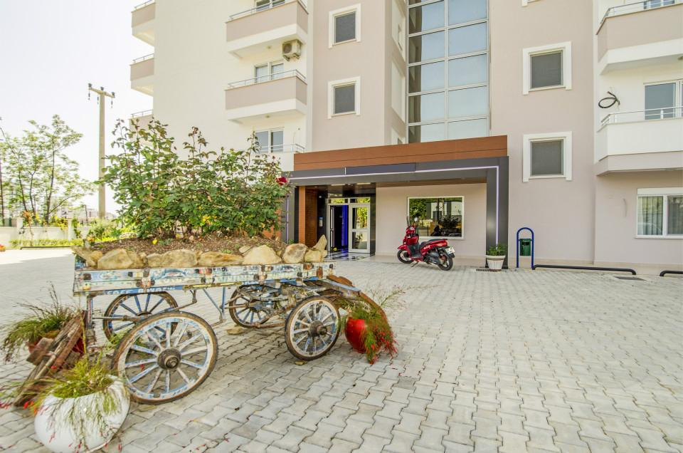Дизайнерские апартаменты в комплексе отельного типа в Махмутларе - Фото 3