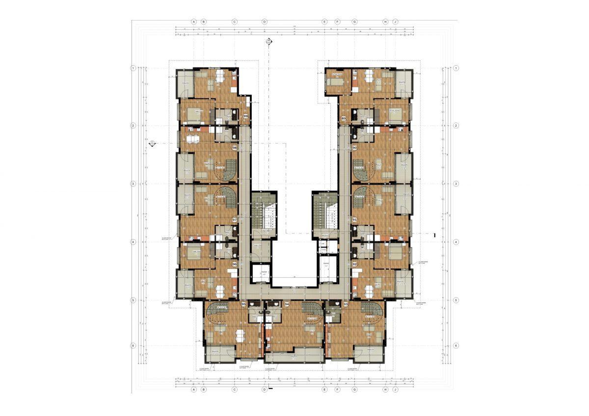 Апартаменты в ЖК премиум-класса в Авсалларе - Фото 40