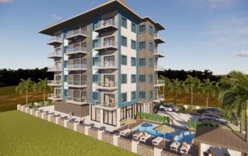 Апартаменты в новом комплексе в Авсалларе