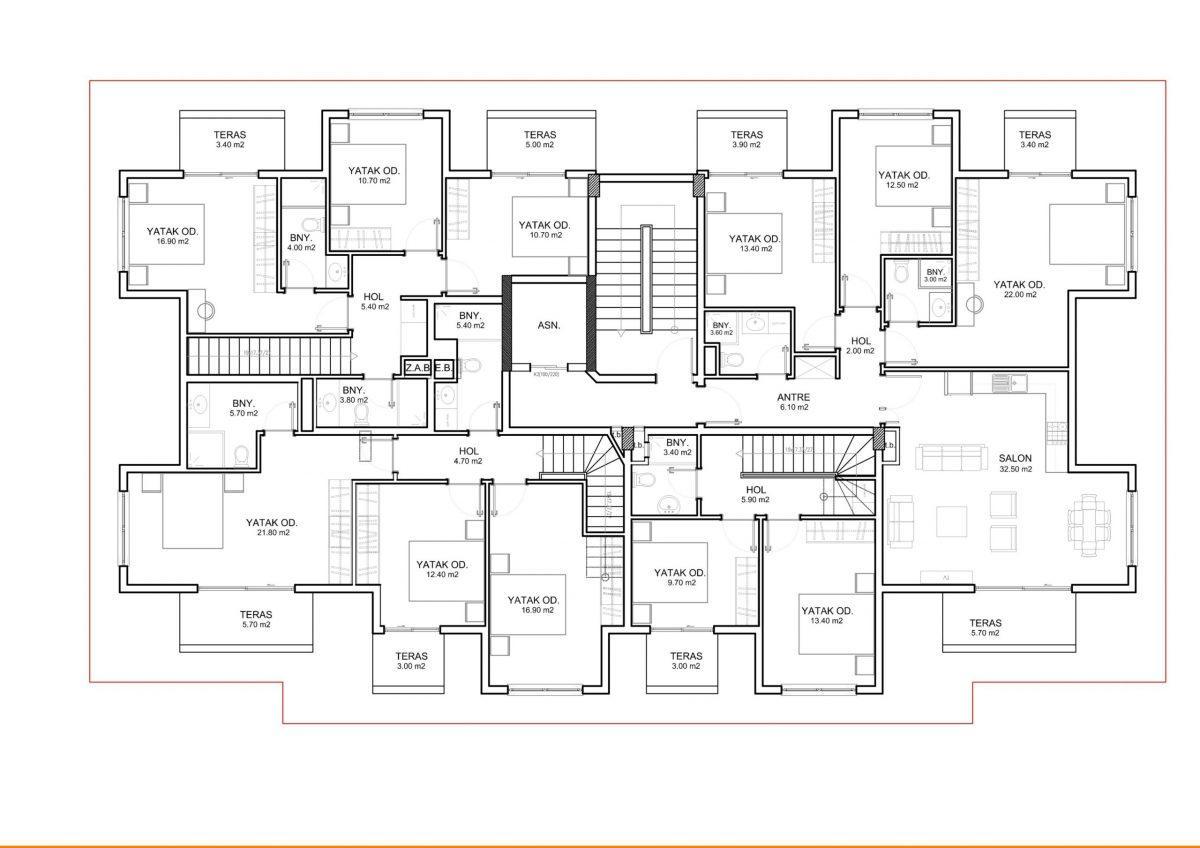 Апартаменты и пентхаусы в новом ЖК в Каргыджаке - Фото 30