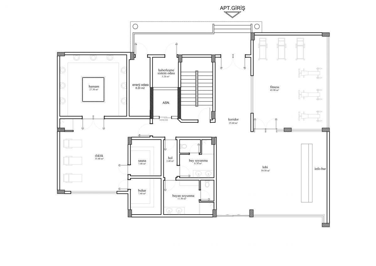 Апартаменты и пентхаусы в новом ЖК в Каргыджаке - Фото 31