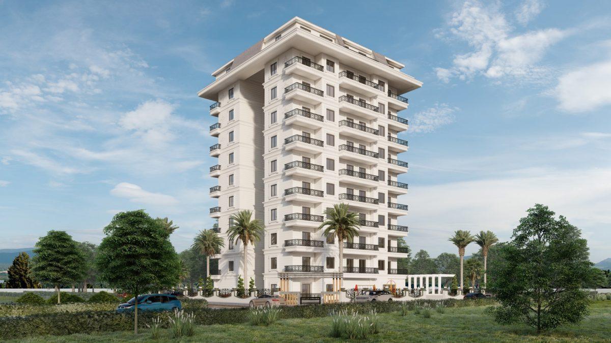 Апартаменты в новом ЖК в Махмутларе в 800 метрах от пляжа - Фото 2