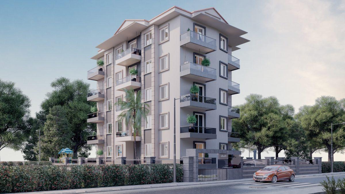 Апартаменты в новом комплексе в центре Махмутлара - Фото 1