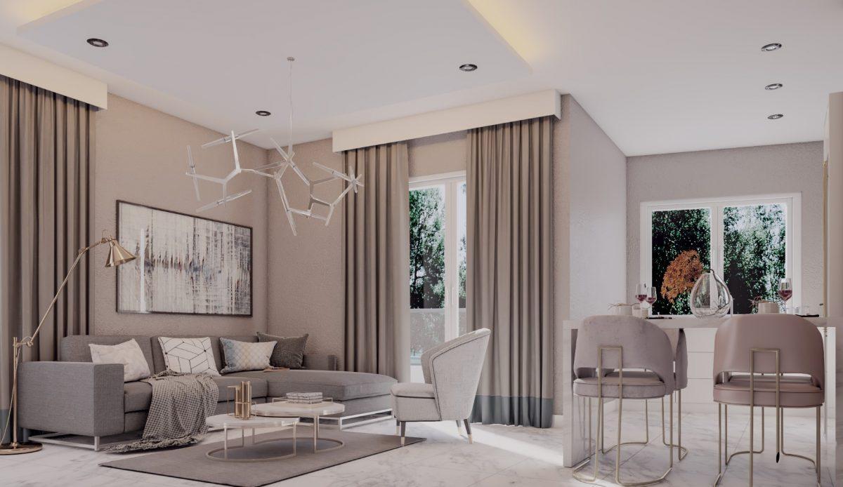 Апартаменты в новом комплексе в центре Махмутлара - Фото 10