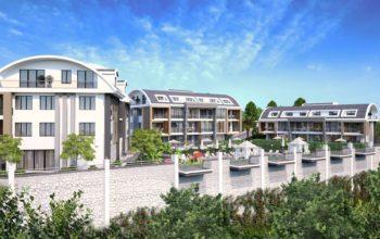 Апартаменты премиального класса  с панорамным видом в центре Алании