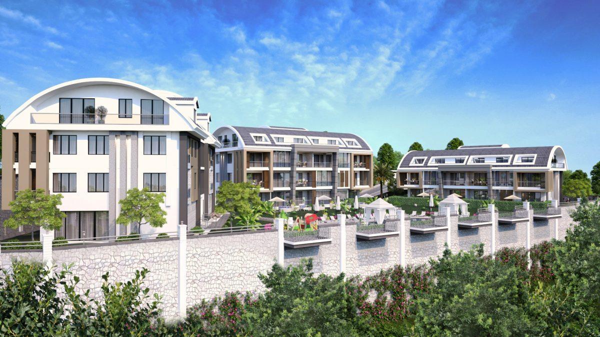 Апартаменты премиального класса  с панорамным видом в центре Алании - Фото 1