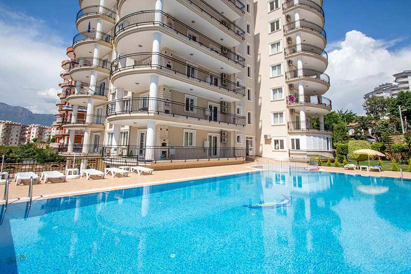 Просторная квартира 2+1 с видом на море в Тосмуре - Фото 3
