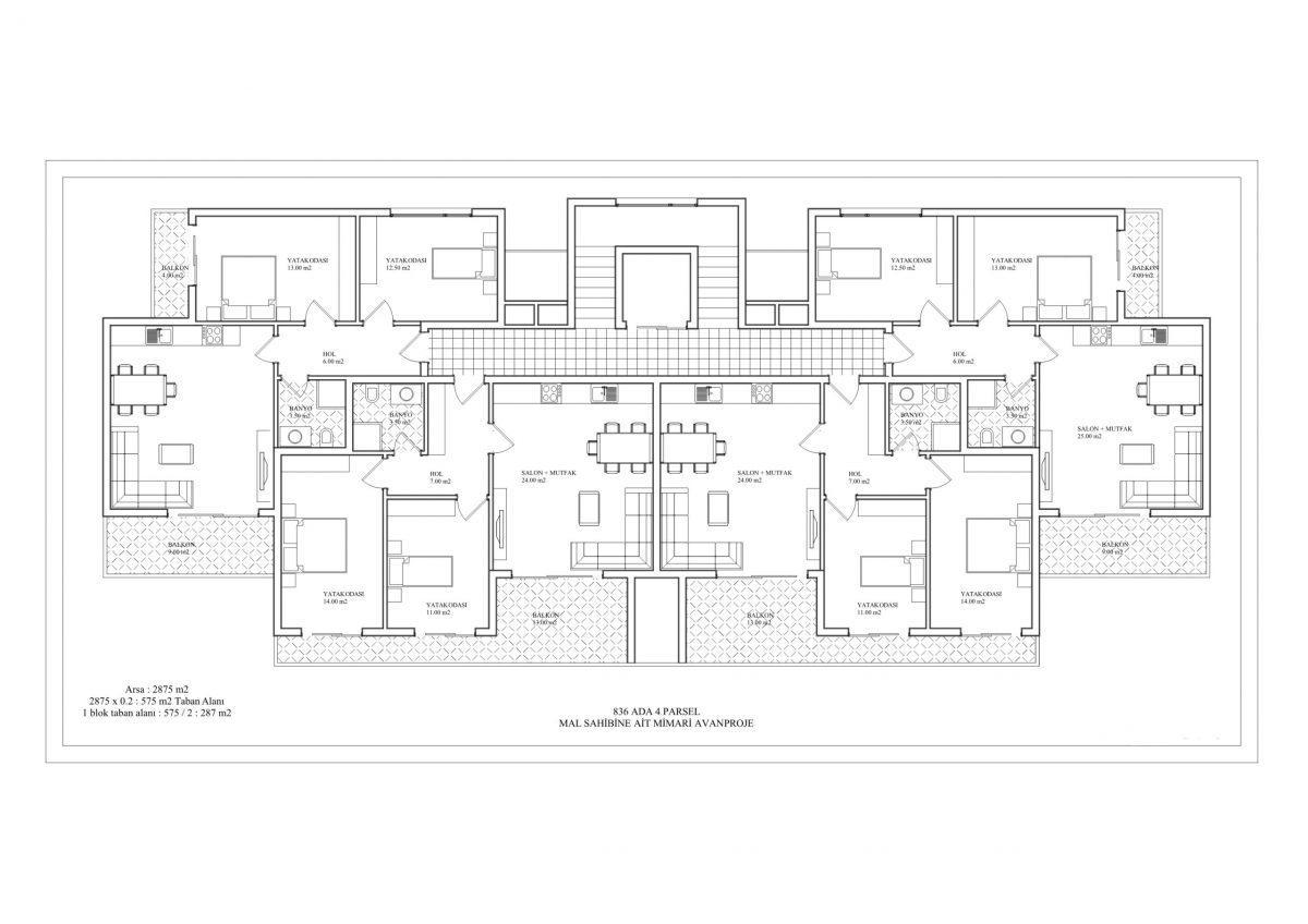 Новый комплекс класса люкс в Каргыджаке рядом с морем - Фото 57