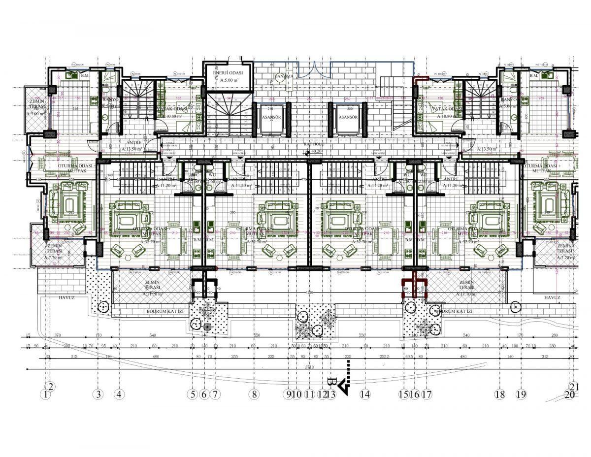 Новый комплекс класса люкс в Каргыджаке рядом с морем - Фото 58