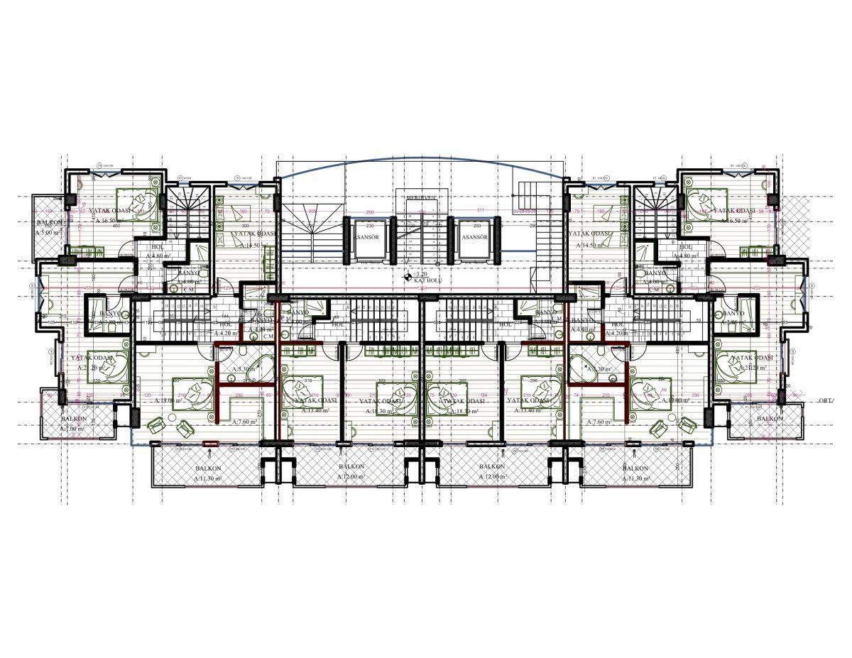 Новый комплекс класса люкс в Каргыджаке рядом с морем - Фото 59