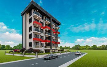Инвестиционные апартаменты 1+1 в Авсаллар