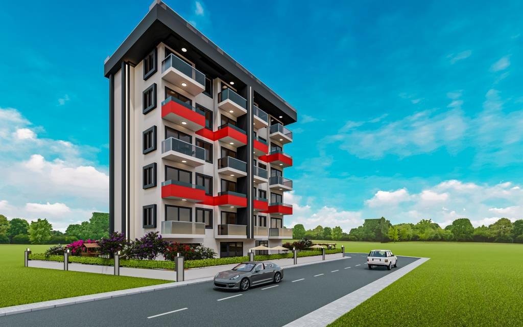 Инвестиционные апартаменты 1+1 в Авсаллар - Фото 1