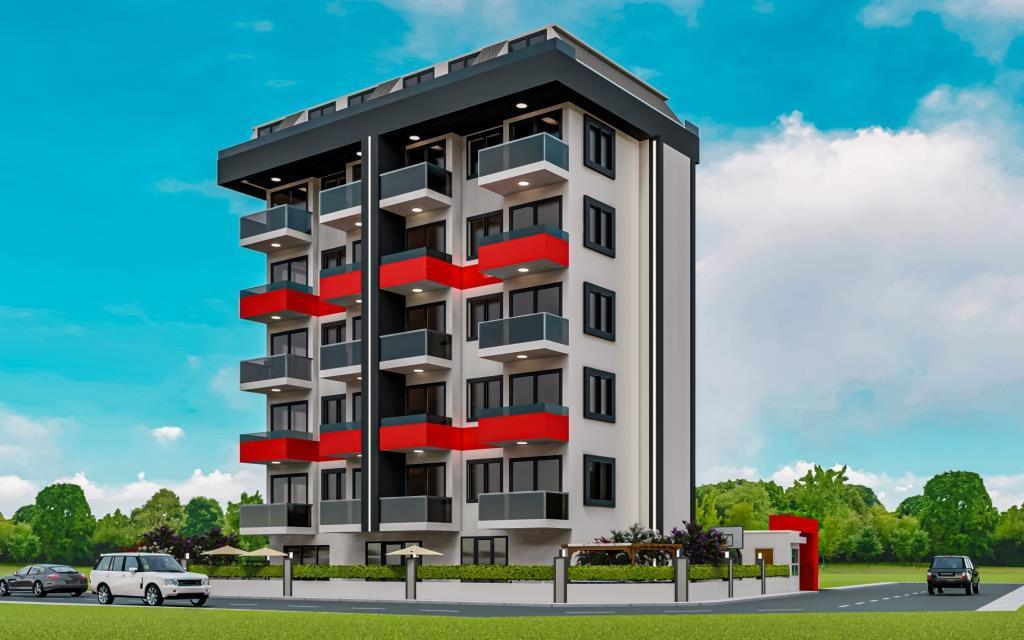 Инвестиционные апартаменты 1+1 в Авсаллар - Фото 2