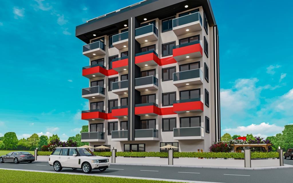 Инвестиционные апартаменты 1+1 в Авсаллар - Фото 3