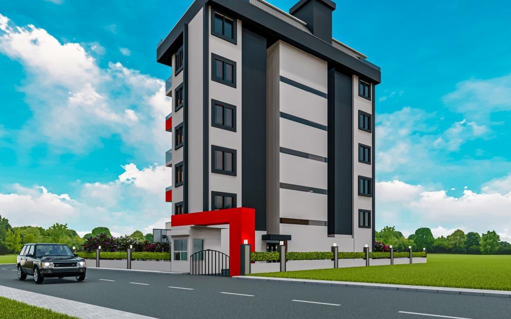 Инвестиционные апартаменты 1+1 в Авсаллар - Фото 4