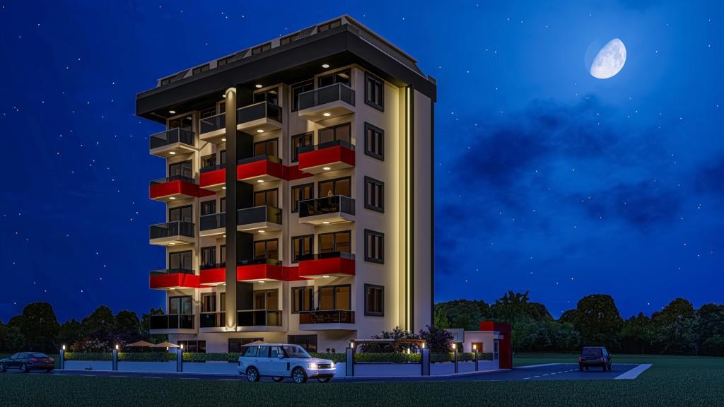 Инвестиционные апартаменты 1+1 в Авсаллар - Фото 5