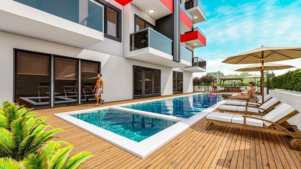 Инвестиционные апартаменты 1+1 в Авсаллар - Фото 6