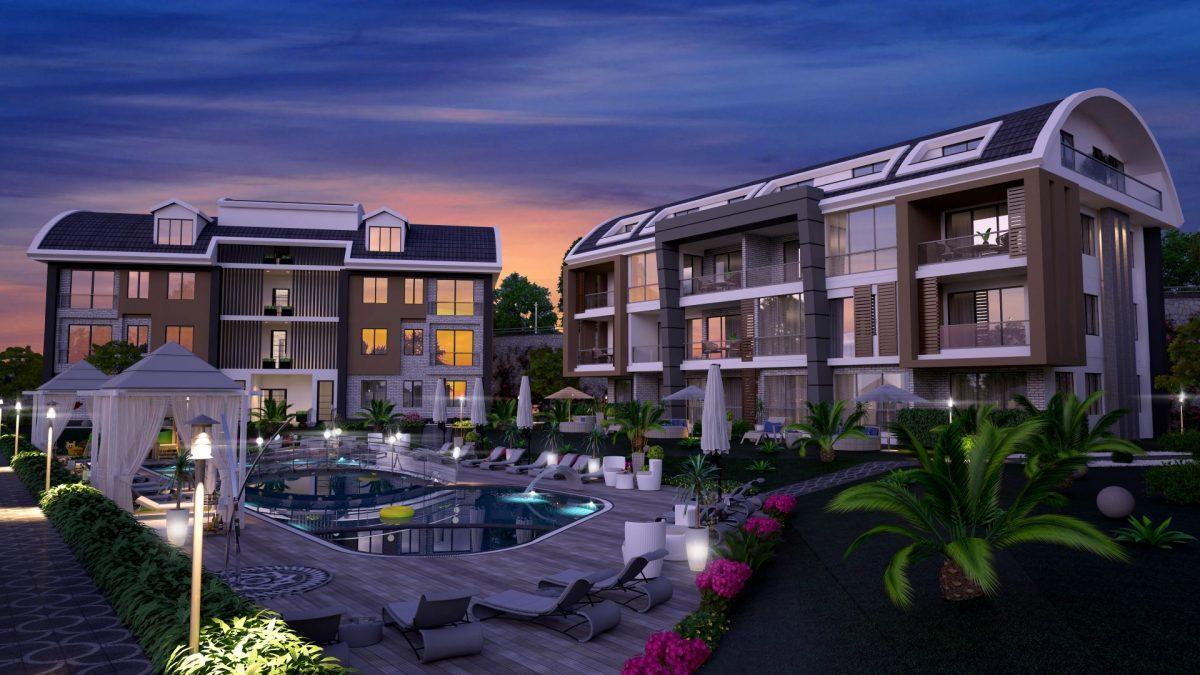 Апартаменты премиального класса  с панорамным видом в центре Алании - Фото 10