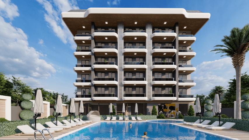 Жилой комплекс для инвестиций рядом с морем в Каргыджак - Фото 9