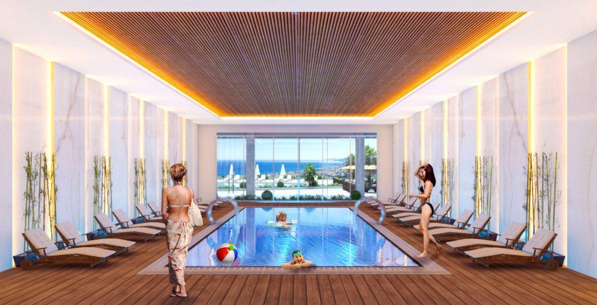 Квартиры в роскошном ЖК с собственным пляжем в Махмутларе - Фото 12