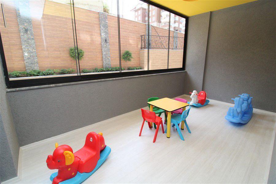 Новые светлые апартаменты 1+1 в Махмутлар - Фото 12