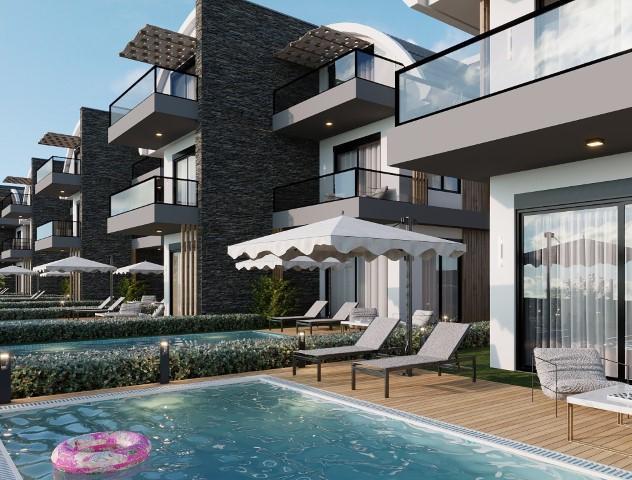Новый комплекс вилл в Авсалларе - Фото 12