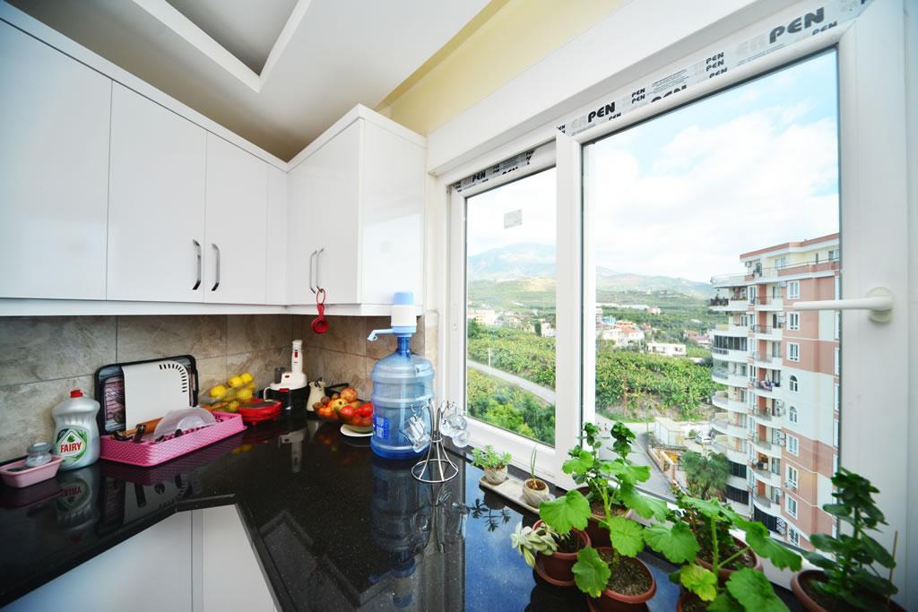 Меблированная квартира 2+1 с видом на горы и природу в Махмутларе - Фото 14