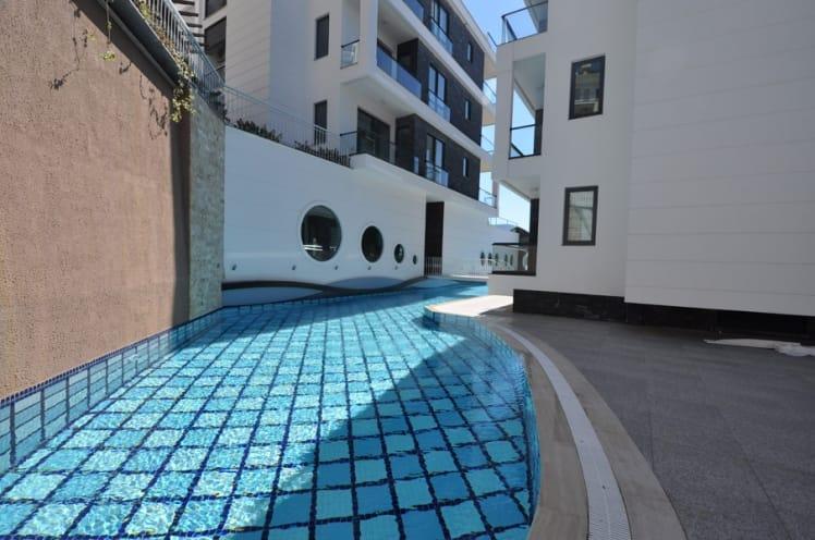Апартаменты 2+1 с панорамным видом на Аланию - Фото 12