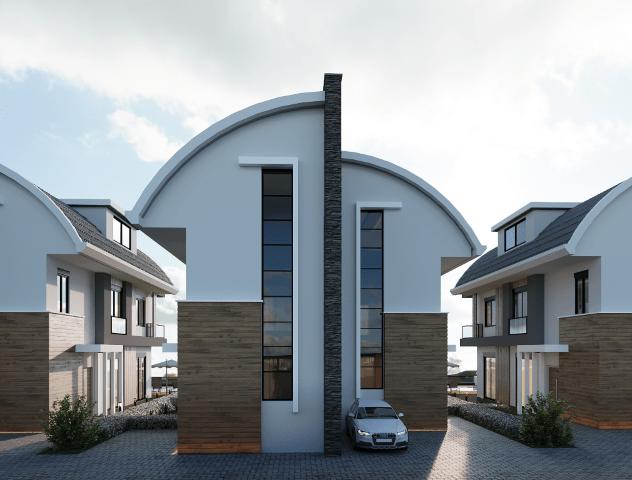 Новый комплекс вилл в Авсалларе - Фото 13
