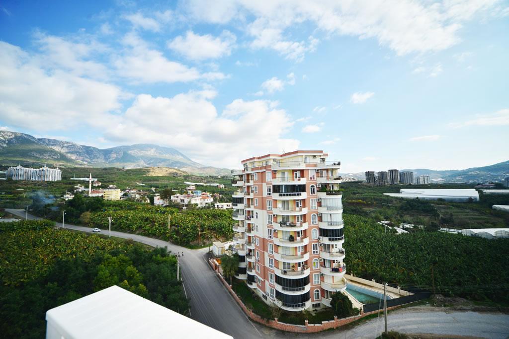 Меблированная квартира 2+1 с видом на горы и природу в Махмутларе - Фото 15
