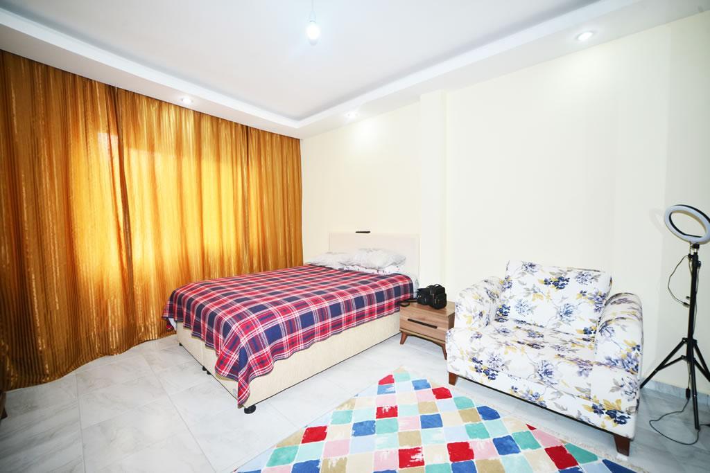 Меблированная квартира 2+1 с видом на горы и природу в Махмутларе - Фото 18