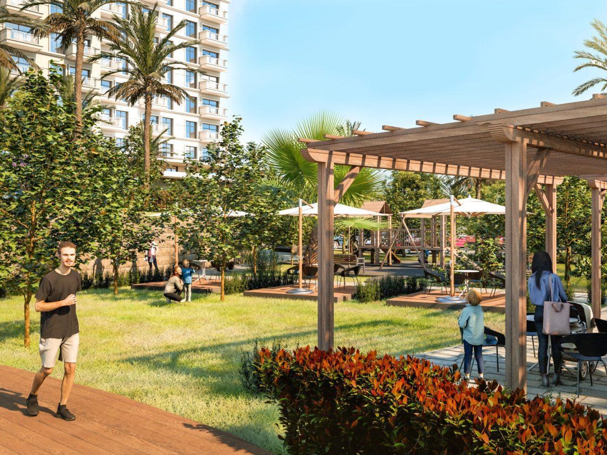 Квартиры в роскошном ЖК с собственным пляжем в Махмутларе - Фото 18
