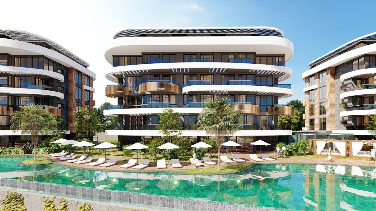 Новые апартаменты в люксовом комплексе в Кестеле - Фото 19