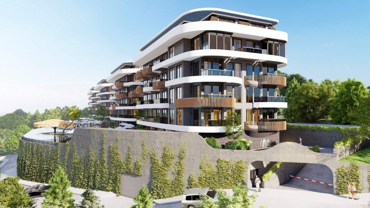 Новые апартаменты в люксовом комплексе в Кестеле - Фото 15