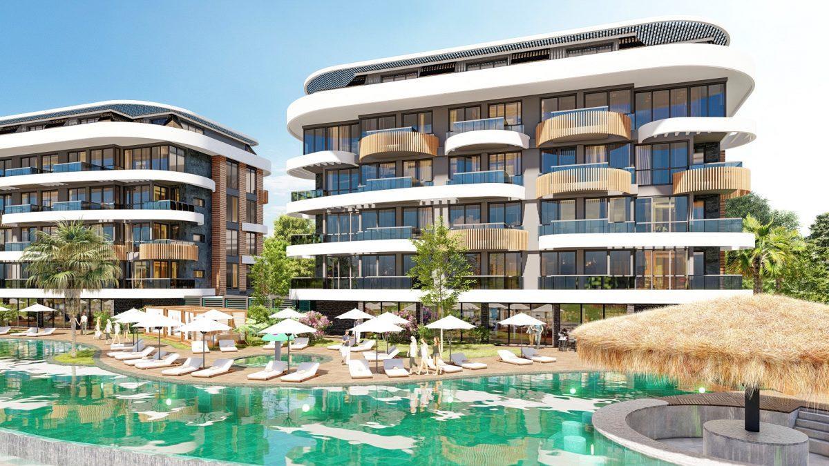 Новые апартаменты в люксовом комплексе в Кестеле - Фото 17
